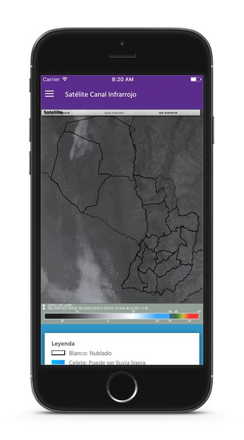 App Móvil Meteorología
