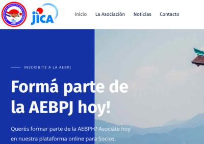 Sitio Web Asociación de Ex Becarios Paraguayos en el Japón