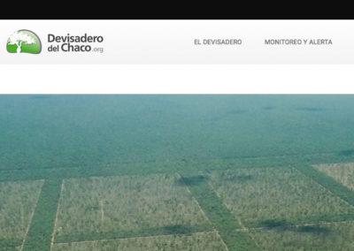 Sitio Web Devisadero del Chaco