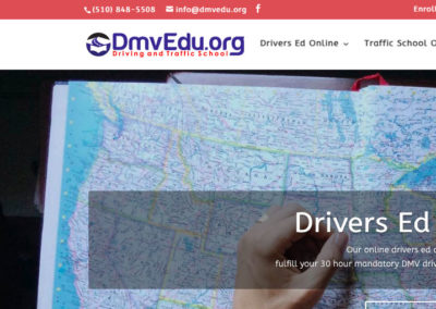 Sitio Web DmvEdu.org