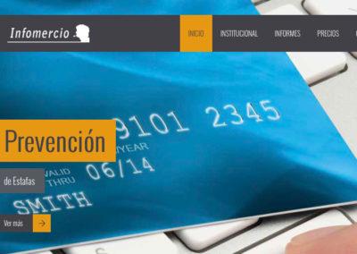 Sitio Web Infomercio