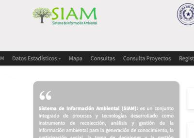 Aplicación Web Sistema de Información Ambiental