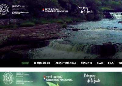 Sitio Web Ministerio del Ambiente y Desarrollo Sostenible