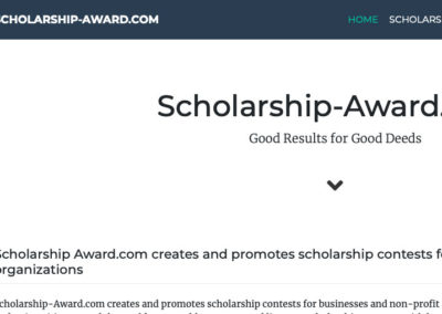 Sitio Web / WordPress Plugin Scholarship-Award.com