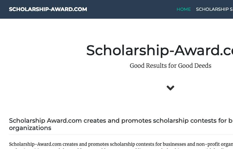 Sitio Web / WordPress Plugin Scholarship-Award.com