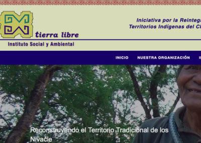 Sitio Web Tierra Libre