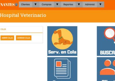 Sistema Gestión Comercial Veterinaria Nantes