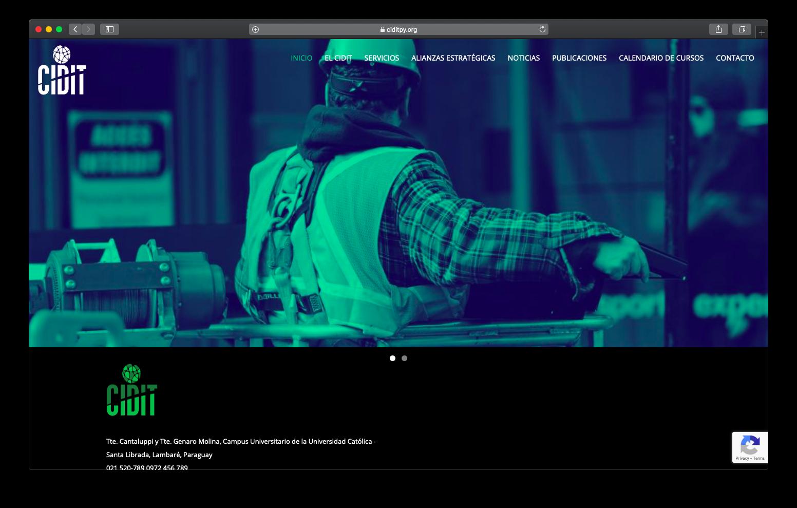 Sitio Web CIDIT