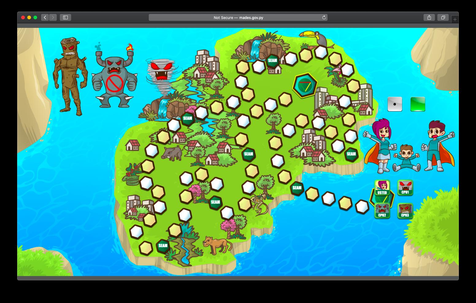 Juego Online Desafío Gaia